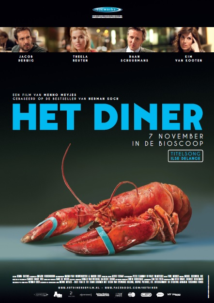 Het Diner - One Sheet