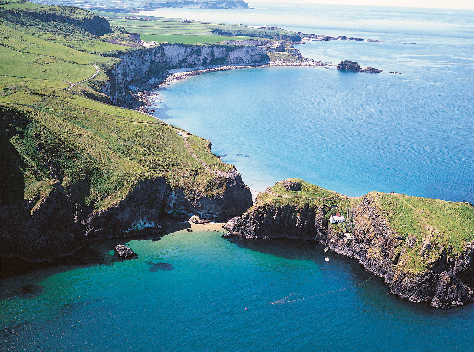 Carrick-a-Rede Aerial View