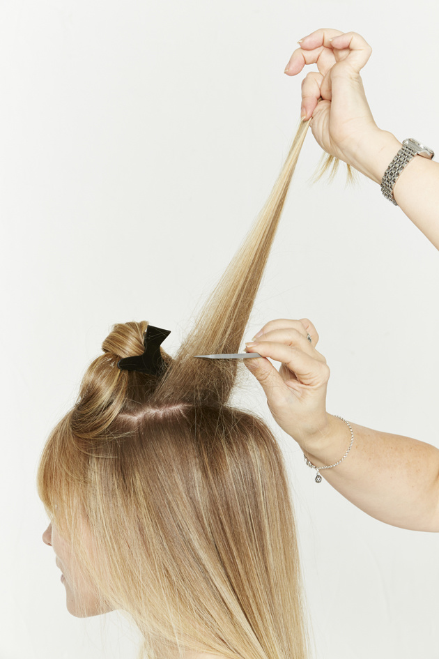 Nivea Sally Brooks 2014 - The Knotted Ponytail - 1