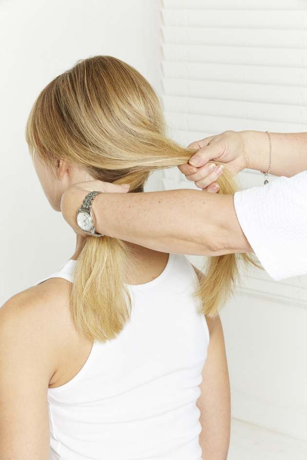 Nivea Sally Brooks 2014 - The Knotted Ponytail - 3