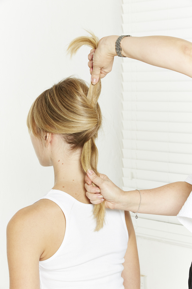 Nivea Sally Brooks 2014 - The Knotted Ponytail - 5