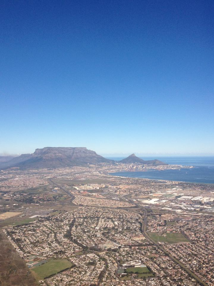 Table Mountain - view from landing