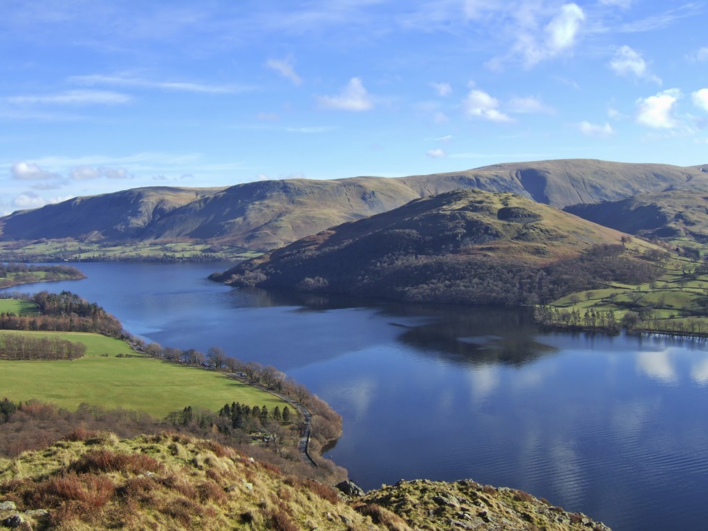 Northern end of Ullswater