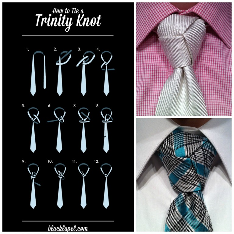 trinity knot collage 1