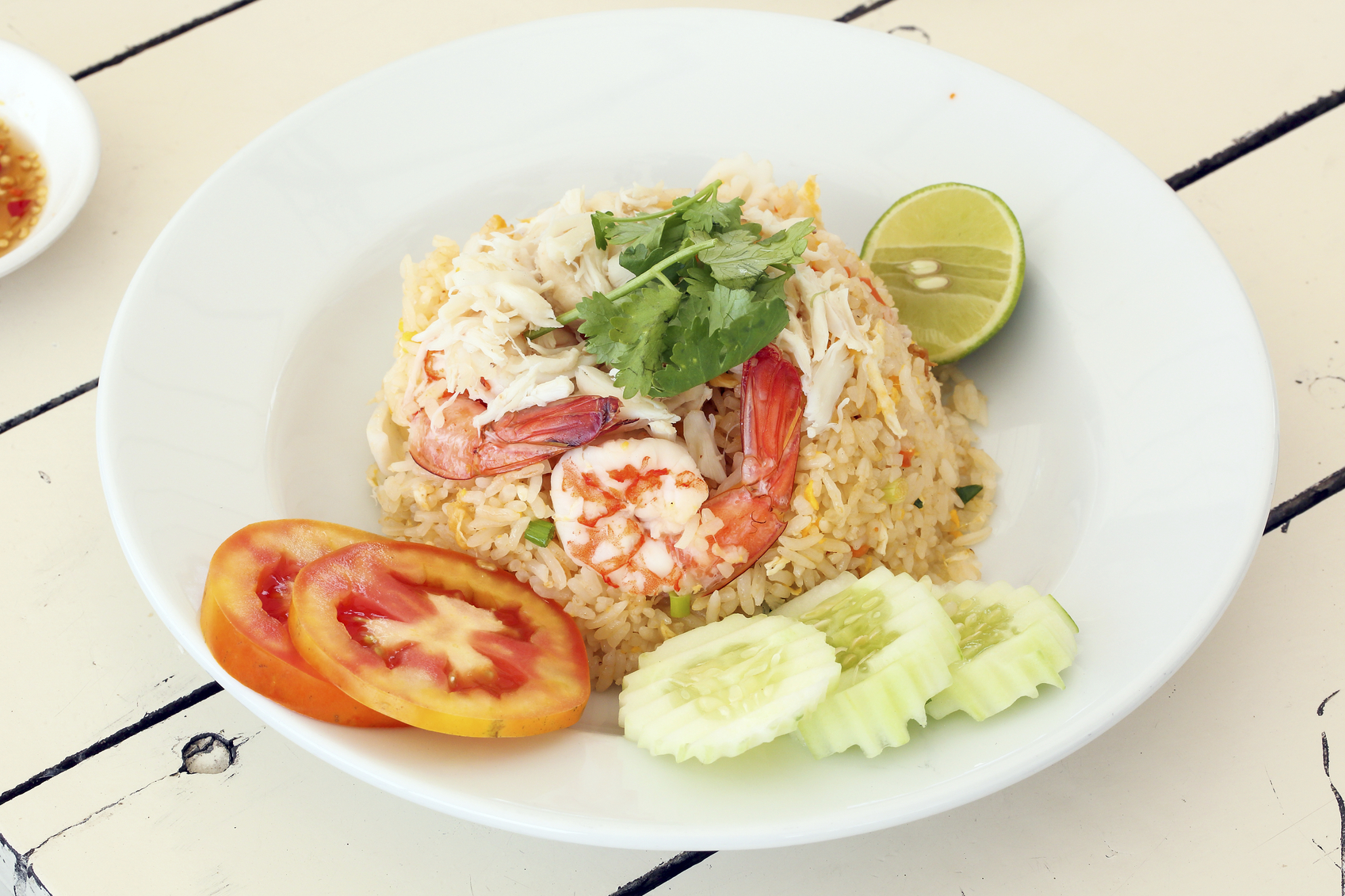 Thai Style Seafood Fried Rice