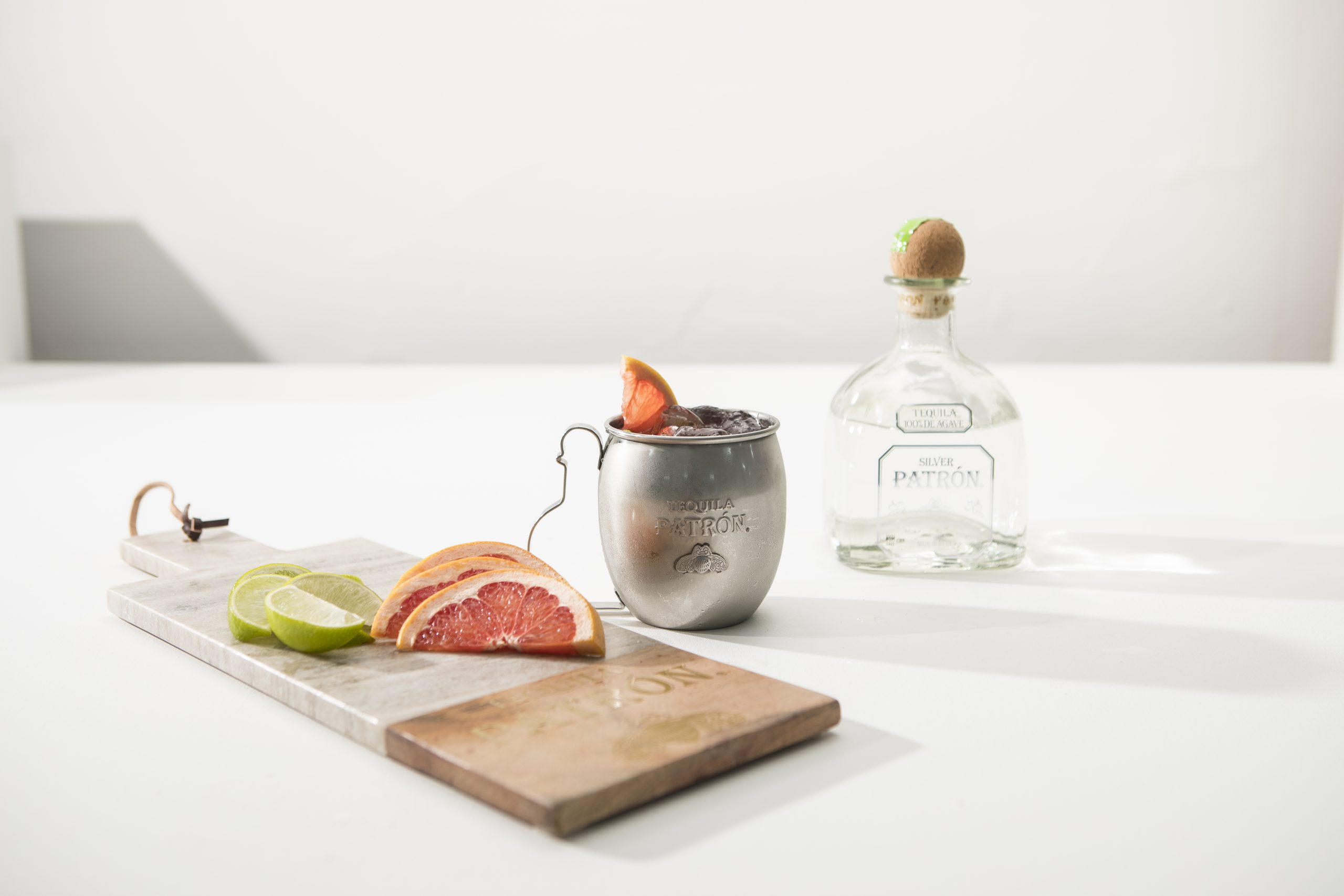Shake it: de lekkere cocktail 'Patrón Paloma' op basis van pompelmoes